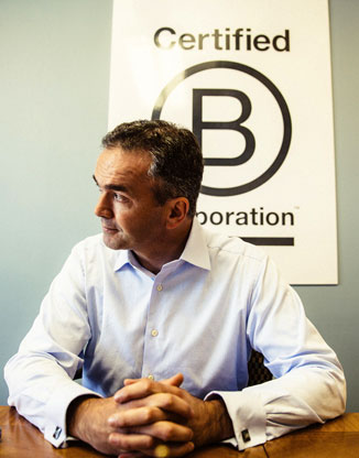 B Lab co-founder Bart Houlahan