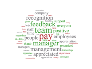 Importance of appreciation at work