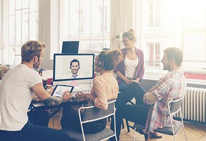 Remote Team Working